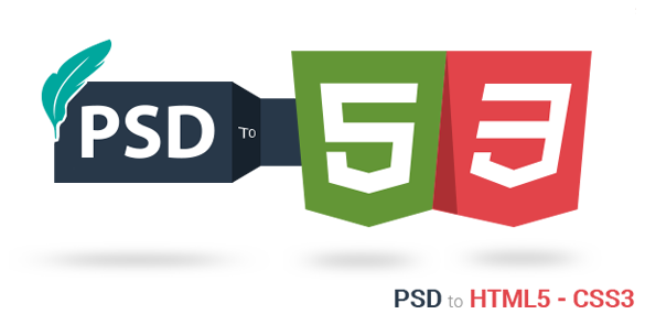 PSD to HTML in India